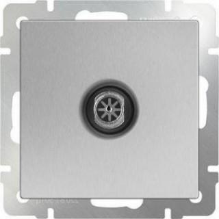 ТВ-розетка оконечная WL06-TV серебряный