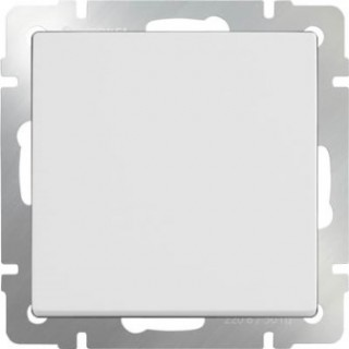 Выключатель одноклавишный WL01-SW-1G белый
