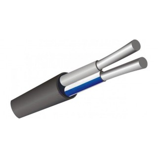 Кабель АВВГнг Ls 2х2,5 силовой алюминиевый