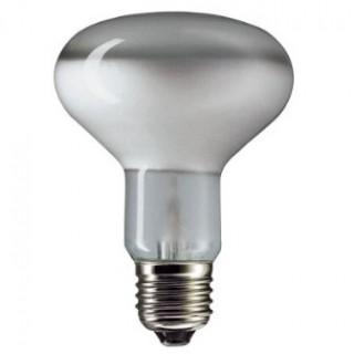 Лампа накаливания 100Вт Е27 R80 (зеркальная)