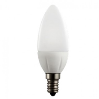 Лампа светодиодная 7W свеча E14 3000K