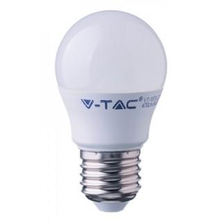 Светодиодная лампа, термопластик, 5,5 Вт G45 Е27 2700К термопластик
