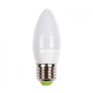 Лампа светодиодная 7W свеча E27 3000K