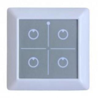 Пульт сенсорный nooLite PU411 (4 канала управления) белый