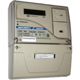 Счетчик электроэнергии электронный СЕ301BY S31 043 JAVZ (5-10)А трансформаторный