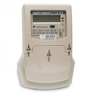 Счетчик электроэнергии электронный 1ф.СЕ 102 BY S6 145AKV (5-60А)