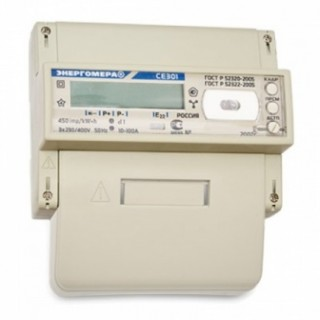 Счетчик электроэнергии электронный 3ф. СЕ 301 BY R33 146 JAVZ (5-100А)