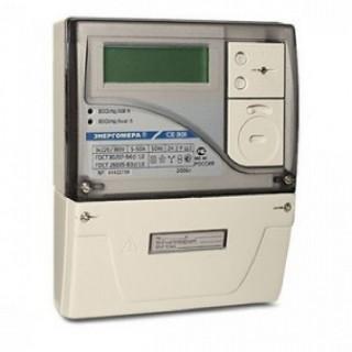 Счетчик электроэнергии электронный трехфазный СЕ 301 BY S31 146 JPQVZ (5-100A) (с PLC модемом)