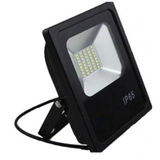 Прожектор светодиодный 30 Вт холодный белый (черный корпус)
