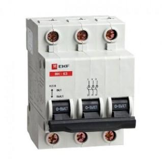 Выключатель нагрузки 3Р 100А ВН-125 EKF PROxima