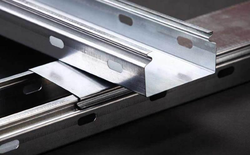 Кабельные лотки металлические оцинкованные